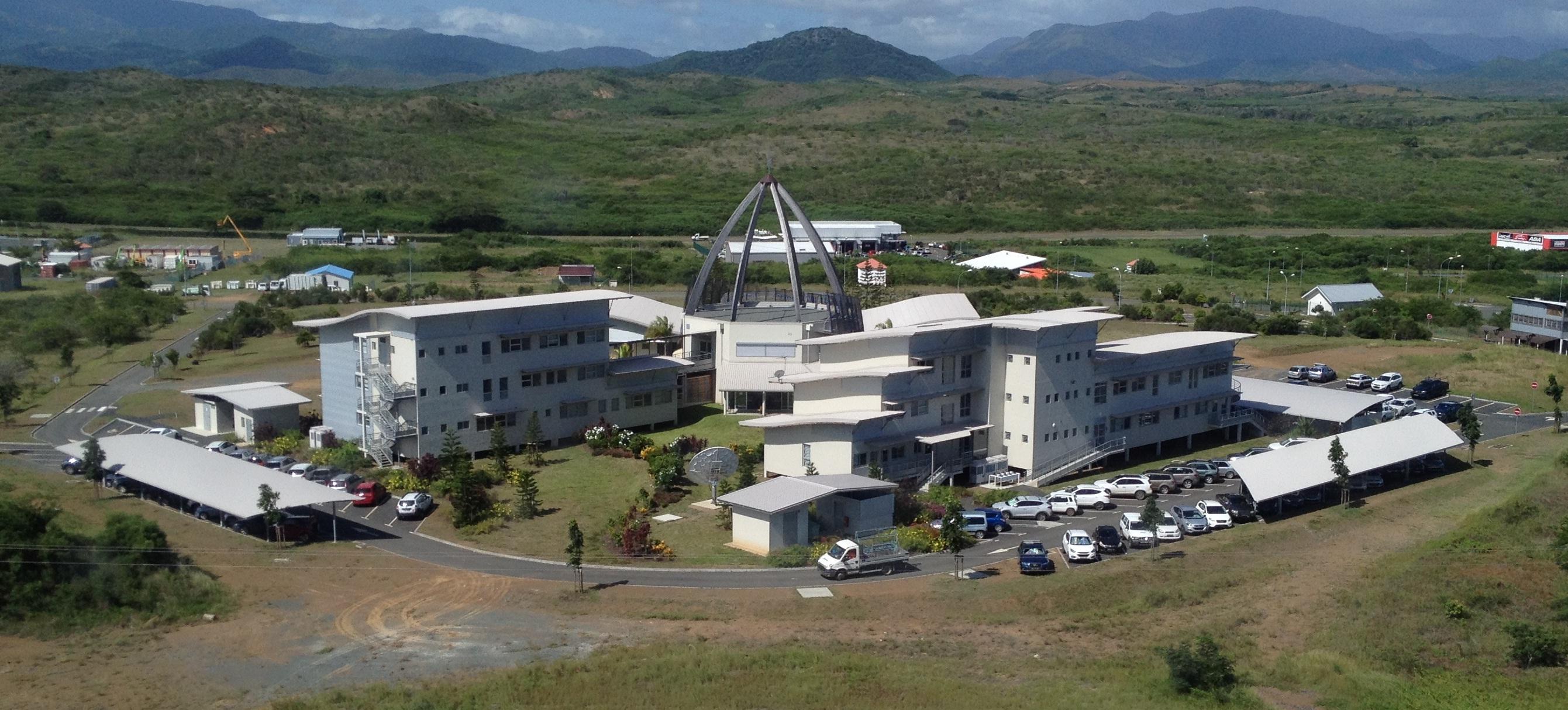 Régie NCTV à Koné, Nouvelle Calédonie