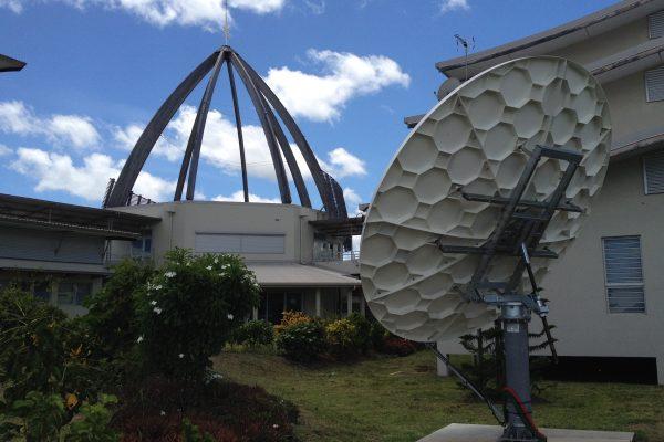 Caledonia (NCTV) – Diffusion de la chaine via satellite